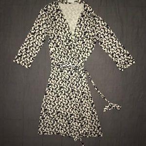 DVF Diane Von Furstenberg 100% silk dress sz 12